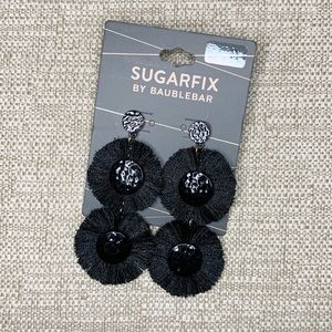 BaubleBar SugarFix Metal & Fringe Dangle Earrings